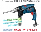 Маркет | Obaldet | Bosch Impact Drill GSB 16 RE Professional